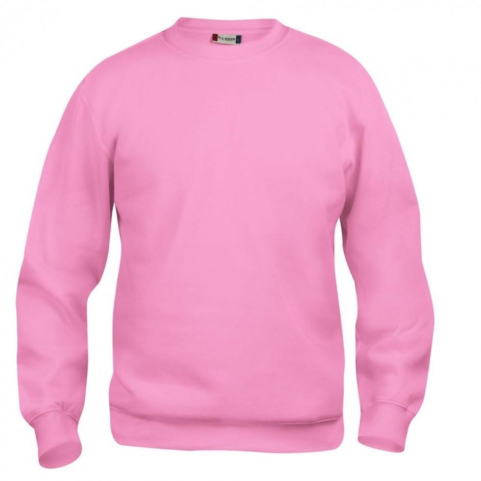 Clique Clique Basic Roundneck 021030 helder roze 250