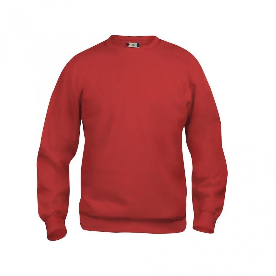 Clique Clique Basic Roundneck 021030 rood 35