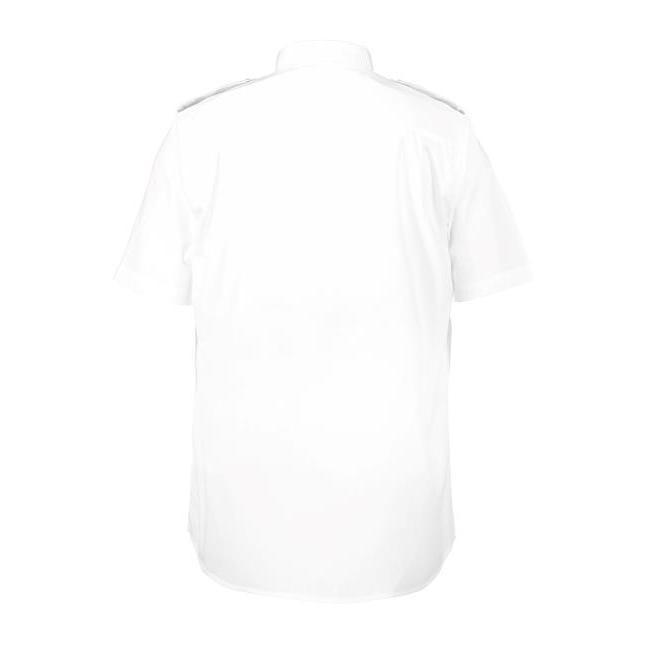 0231 ID Uniform Shirt Short-Sleeved Heren