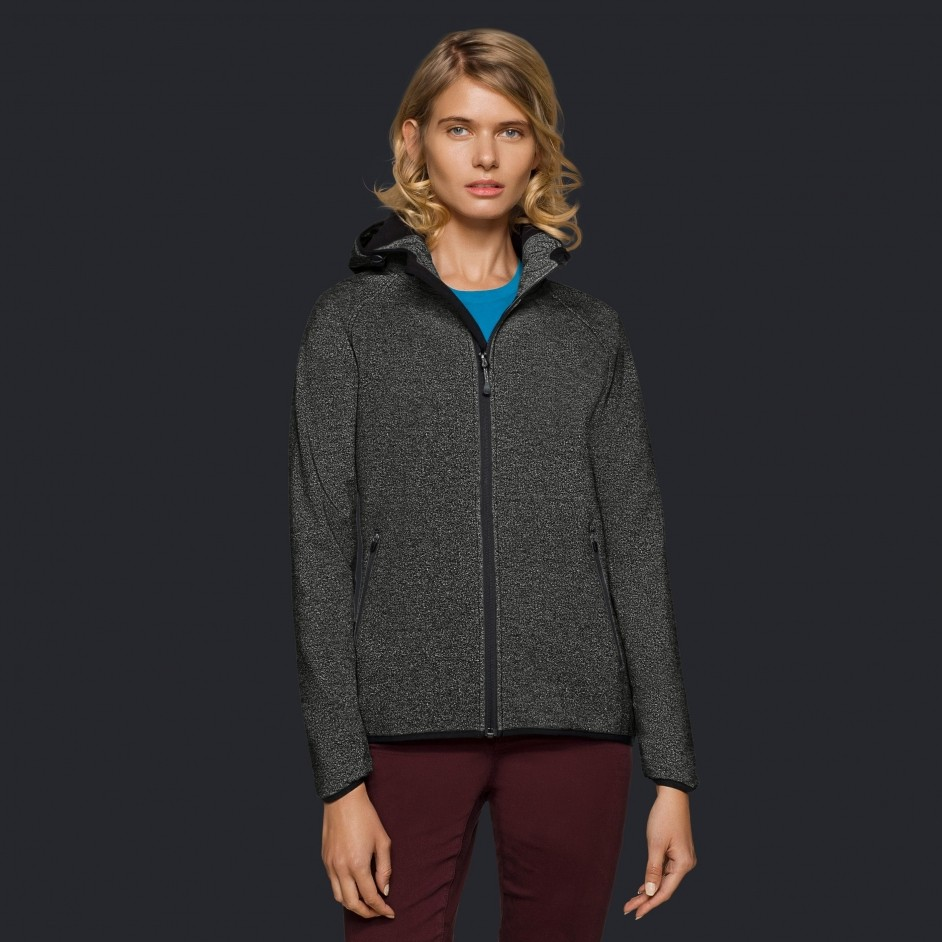 Hakro dames Florida hooded jacket 263