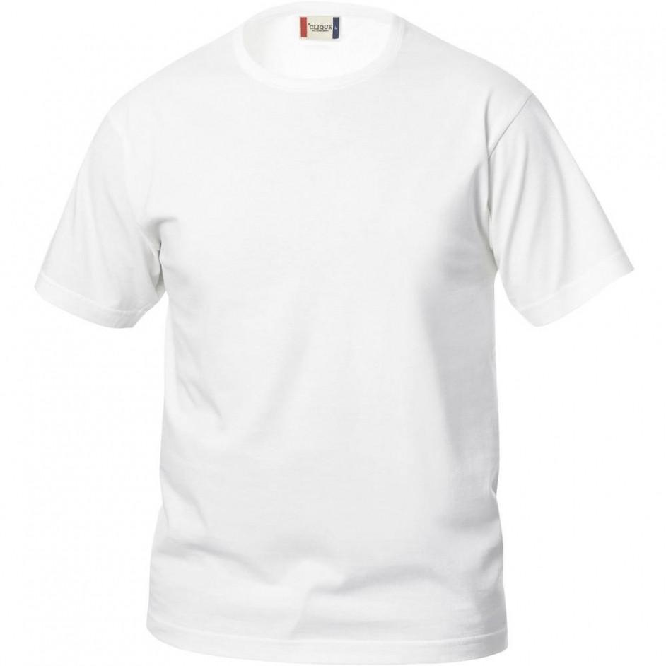 Clique Basic-T shirt Junior 029032 wit 00