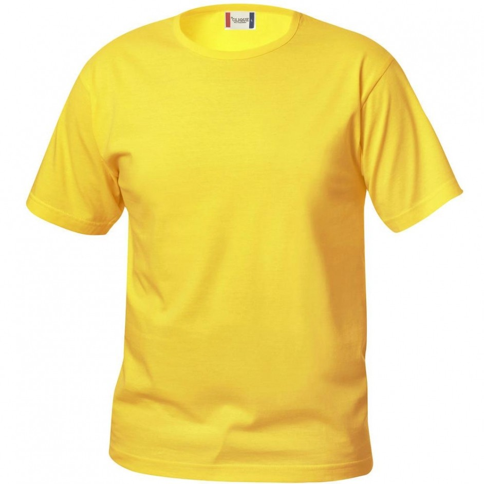 Clique Basic-T shirt Junior 029032 lemon 10
