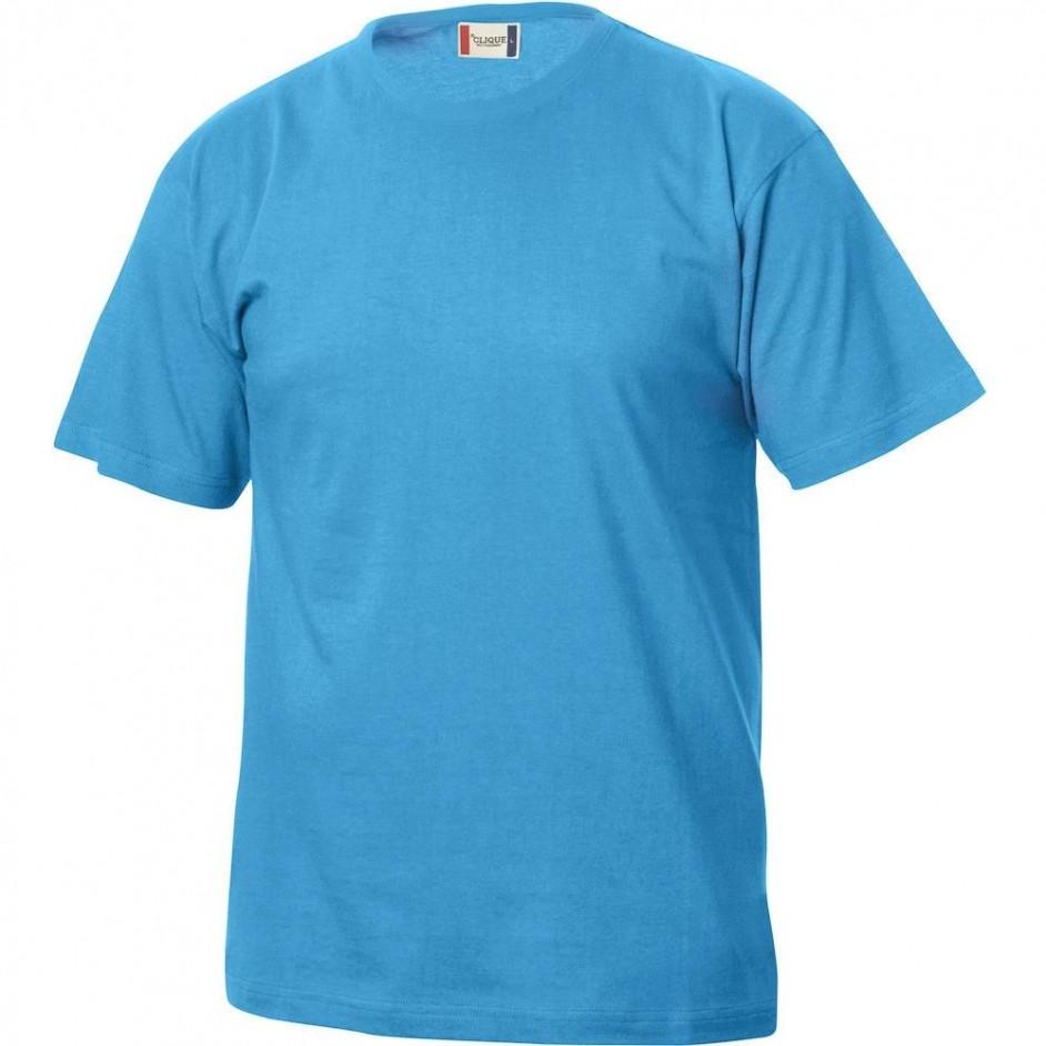 Clique Basic-T shirt Junior 029032 turquoise 54