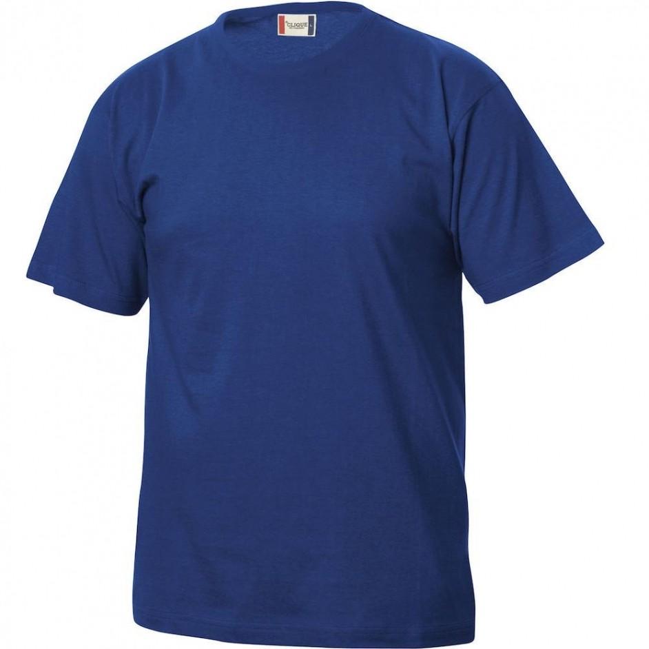 Clique Basic-T shirt Junior 029032 blauw 56