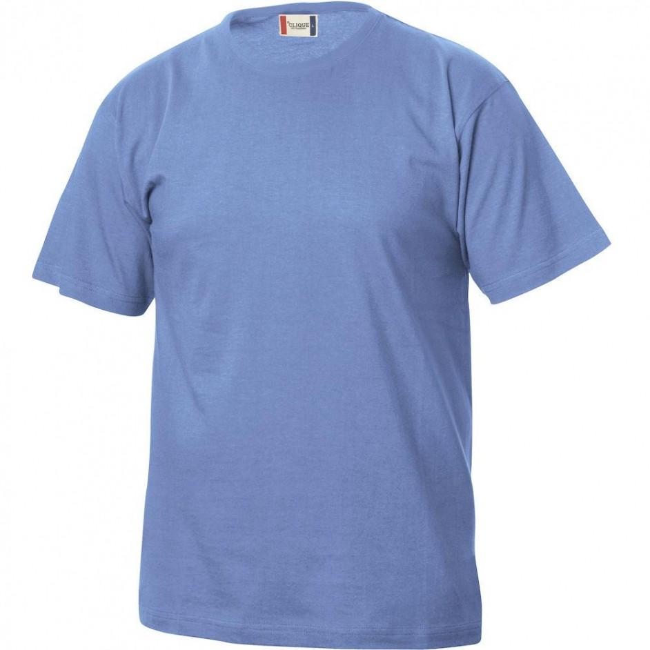 Clique Basic-T shirt Junior 029032 lichtblauw 57