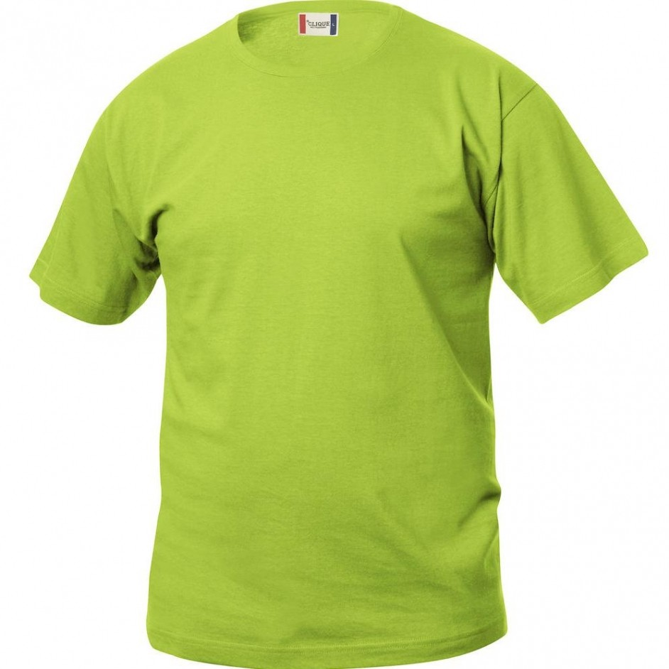 Clique Basic-T shirt Junior 029032 lichtgroen 67