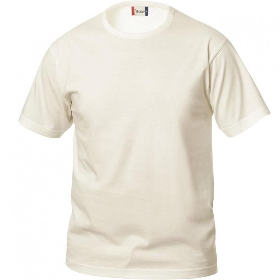 Clique Basic-T shirt Junior 029032 licht khaki 815