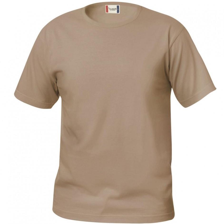 Clique Basic-T shirt Junior 029032 cafe latte 820