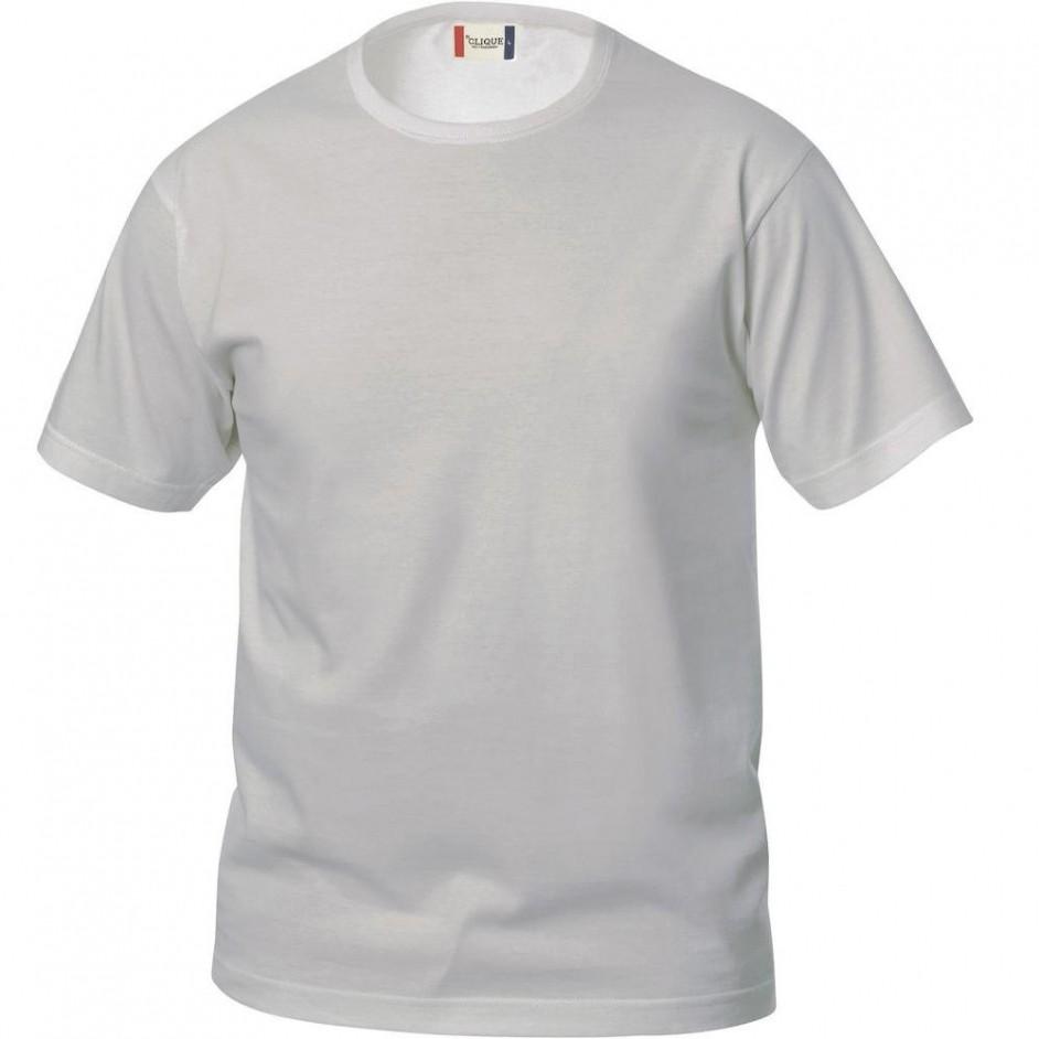 Clique Basic-T shirt Junior 029032 zilvergrijs 94