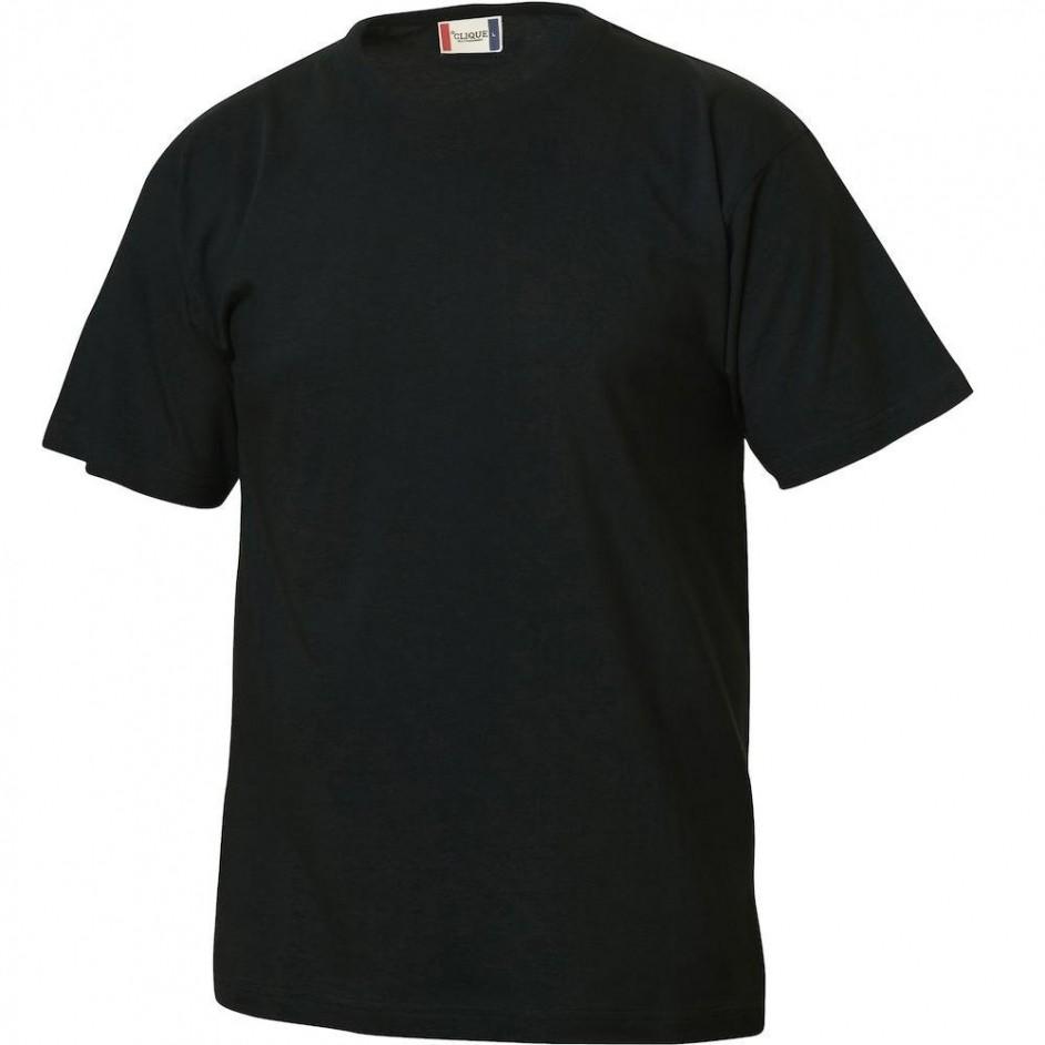 Clique Basic-T shirt Junior 029032 zwart 99