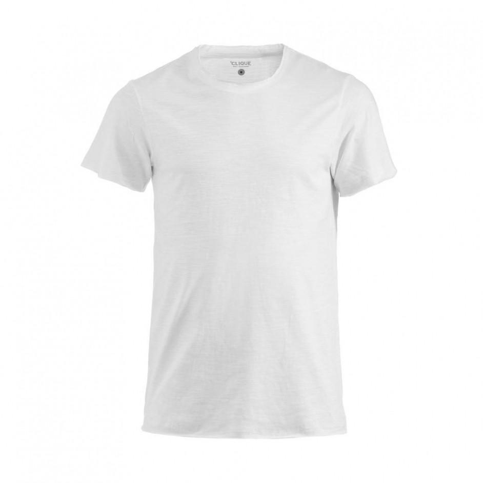 Clique Derby-T shirt heren wit 029342