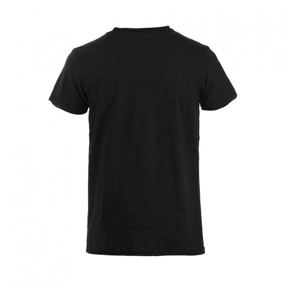 Clique Derby-T shirt heren zwart 029342