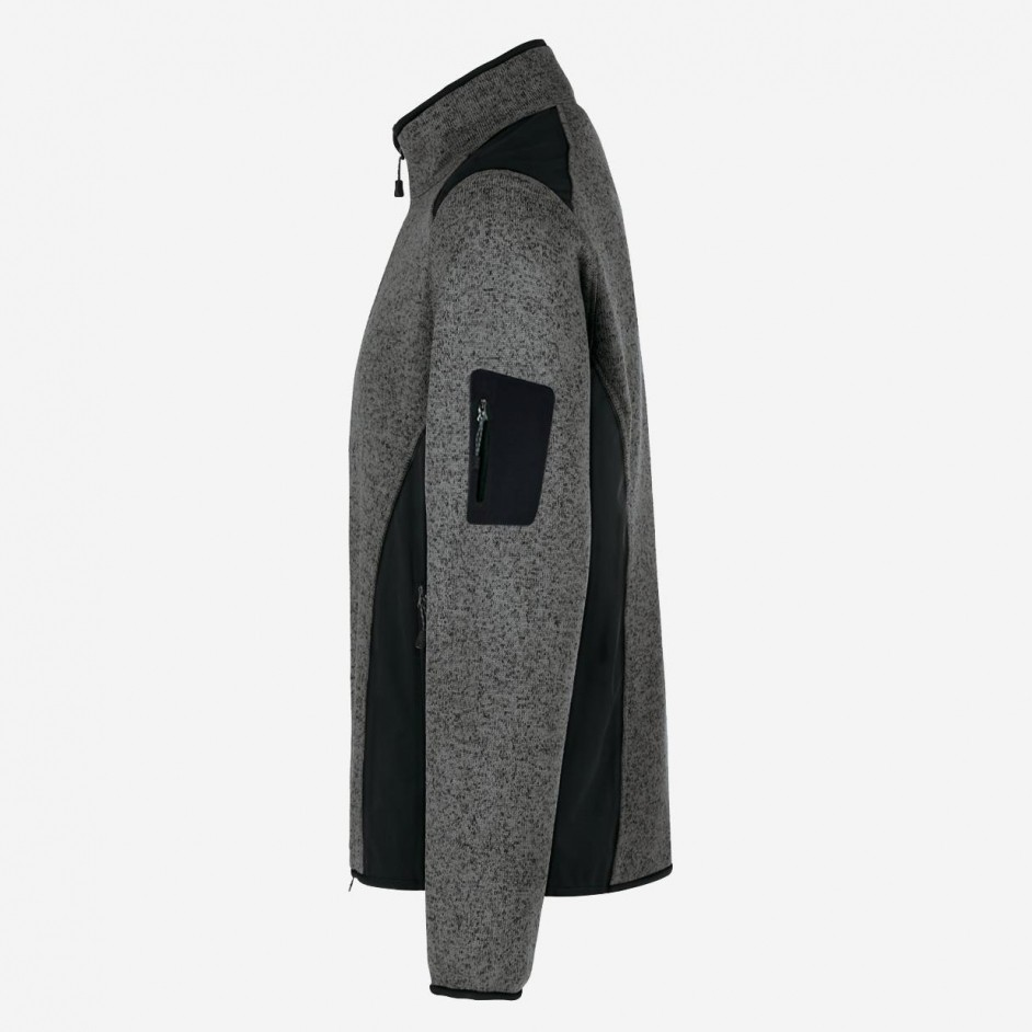 Hakro fleecevest knitted Dawson 836