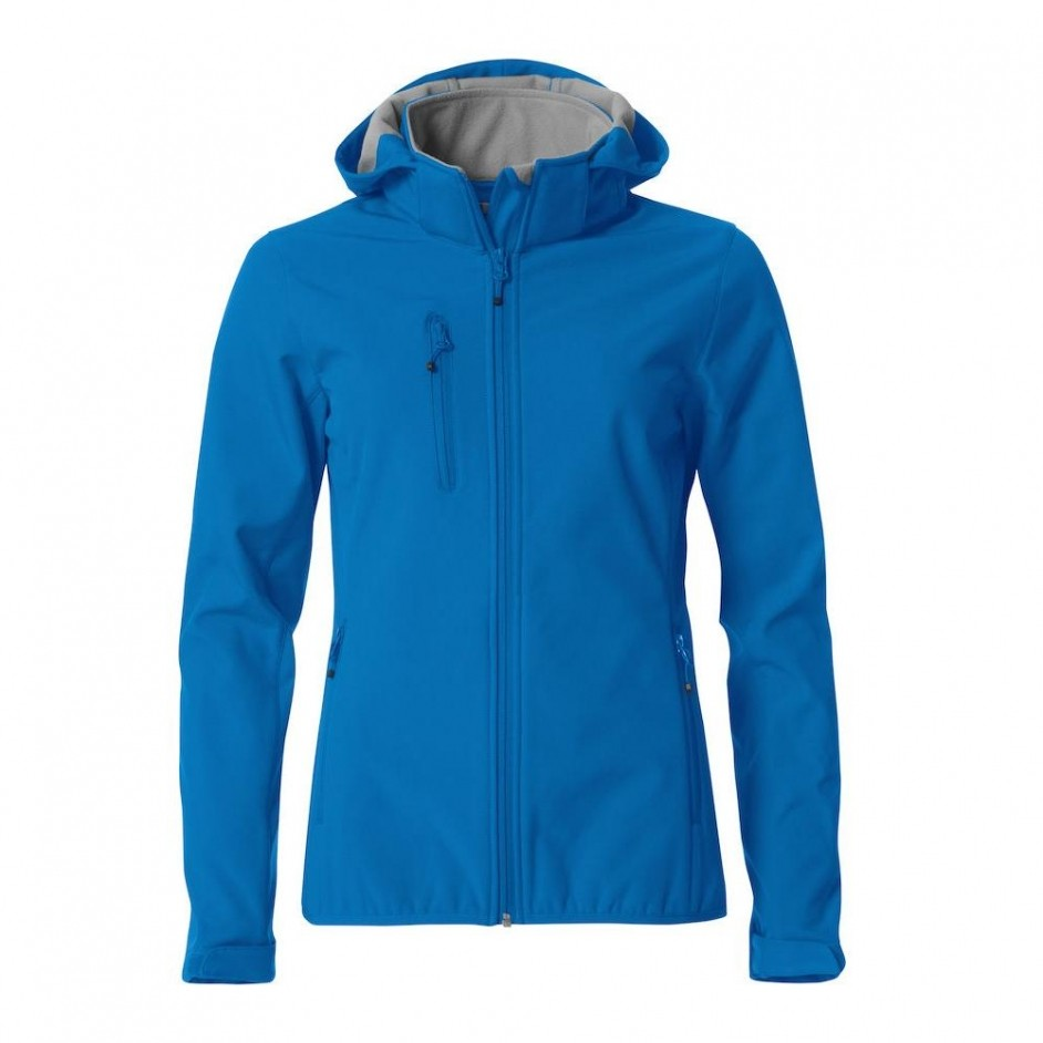 Clique 020917 Basic Dames Softshell Hoody Jacket