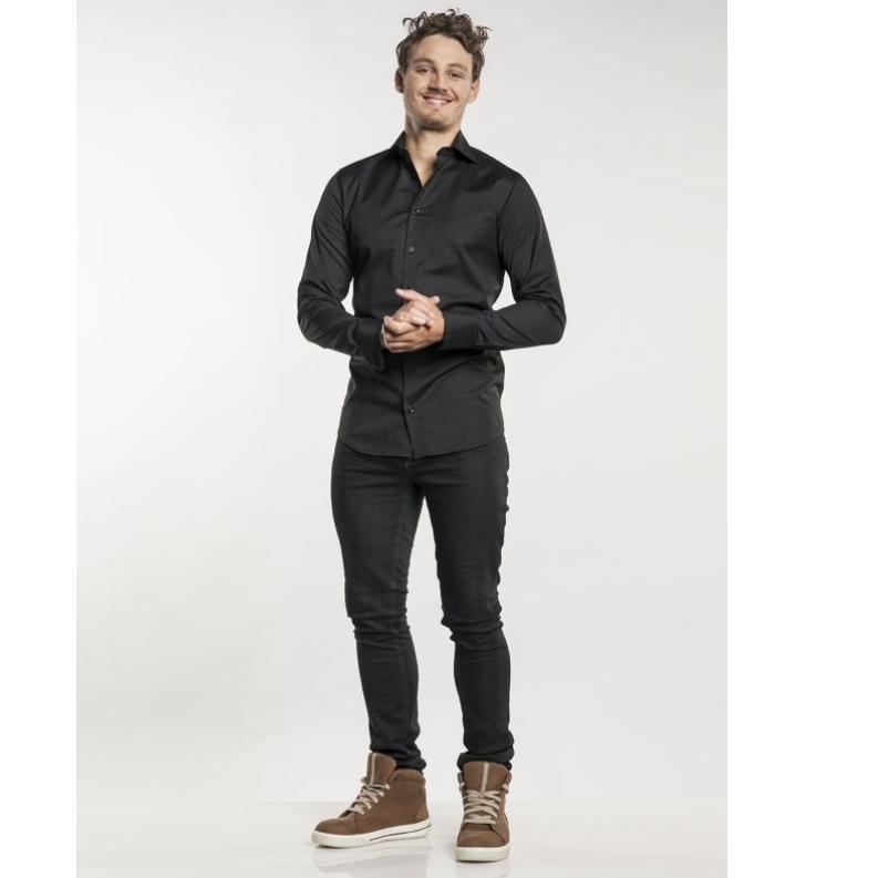 139 Chef Pants Skinny Reg Jogg Denim Black