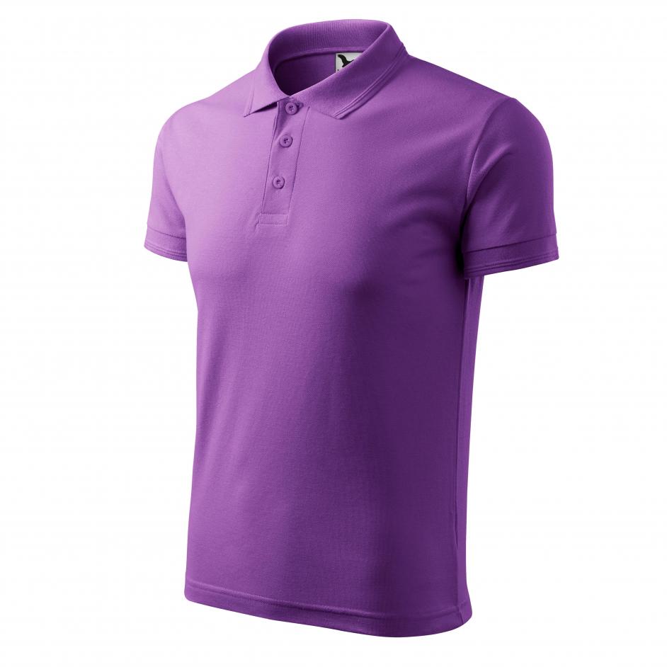 Adler Poloshirt mengkwaliteit 203 kleur paars 64