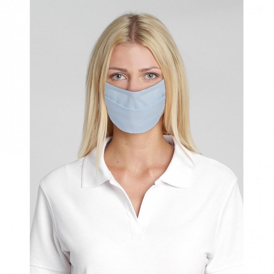 Kleurrijk en unisex mondmasker van WebshirtCompany! Leverbaar in 13 kleuren en voor hergebruik geschikt.