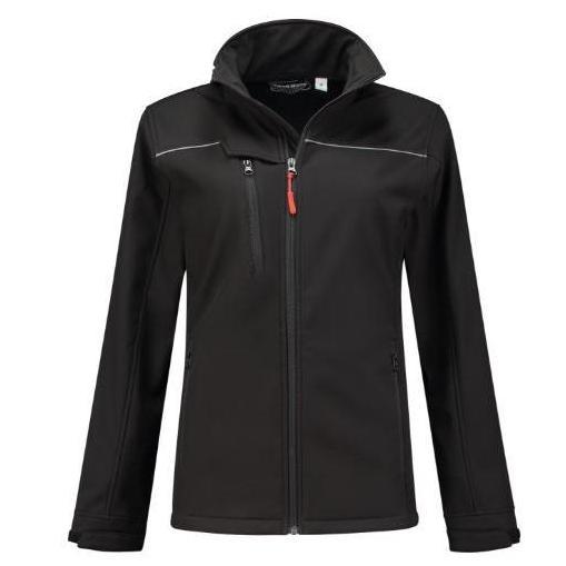 Workman softshell jas women zwart