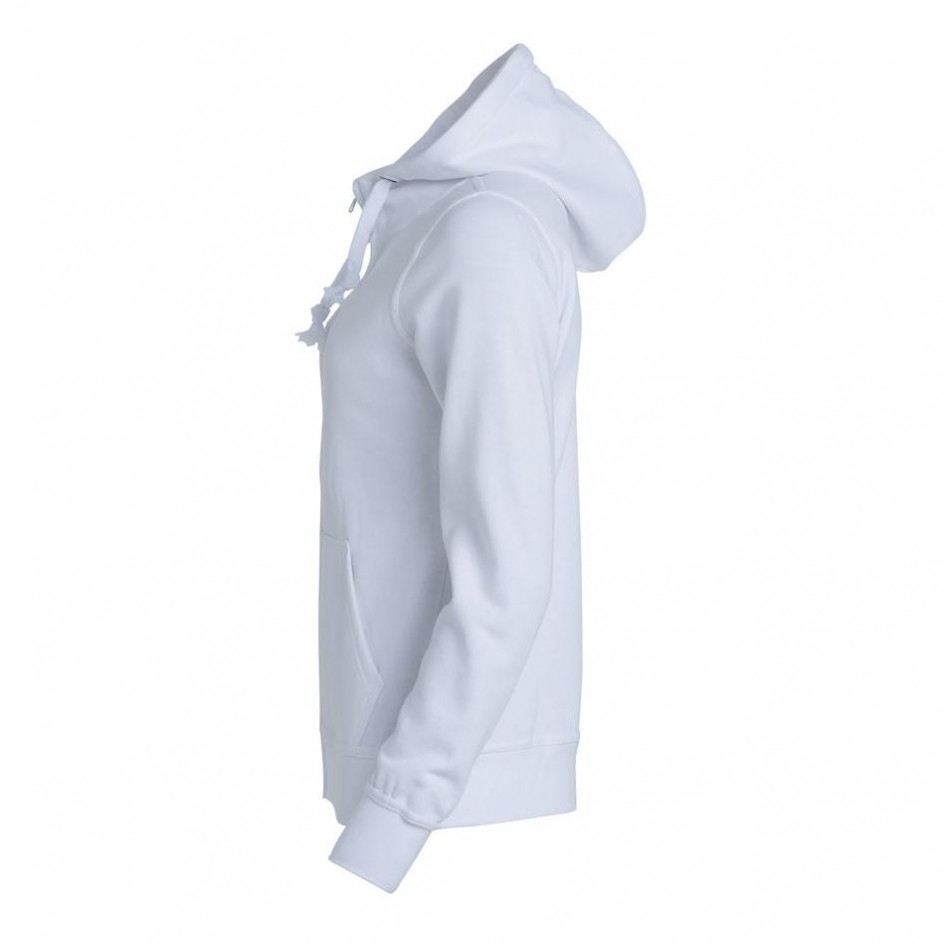 Basic Hoody Full zip ladies 021035