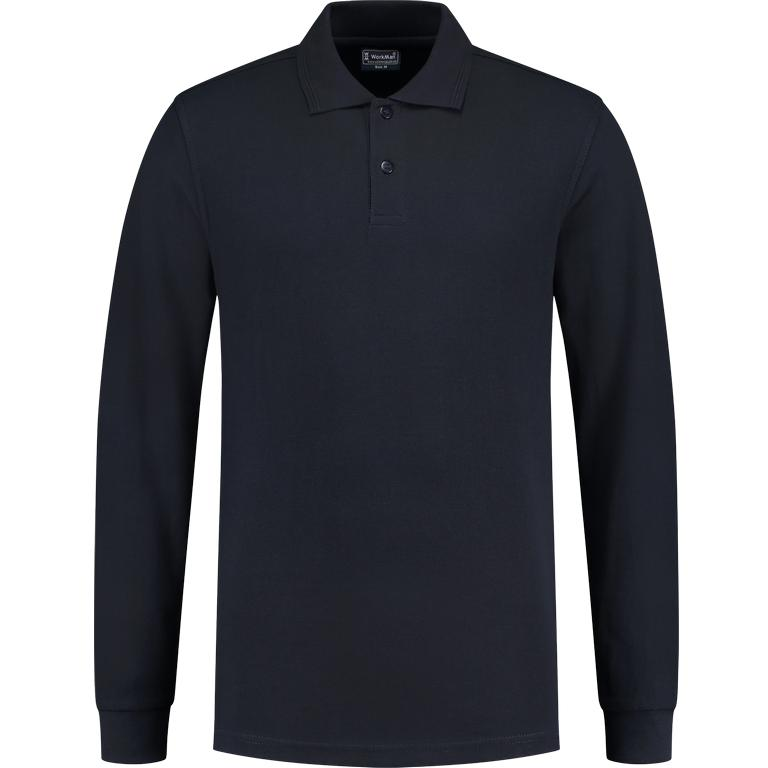 WM Outfitters Polo Longsleeve (navy)