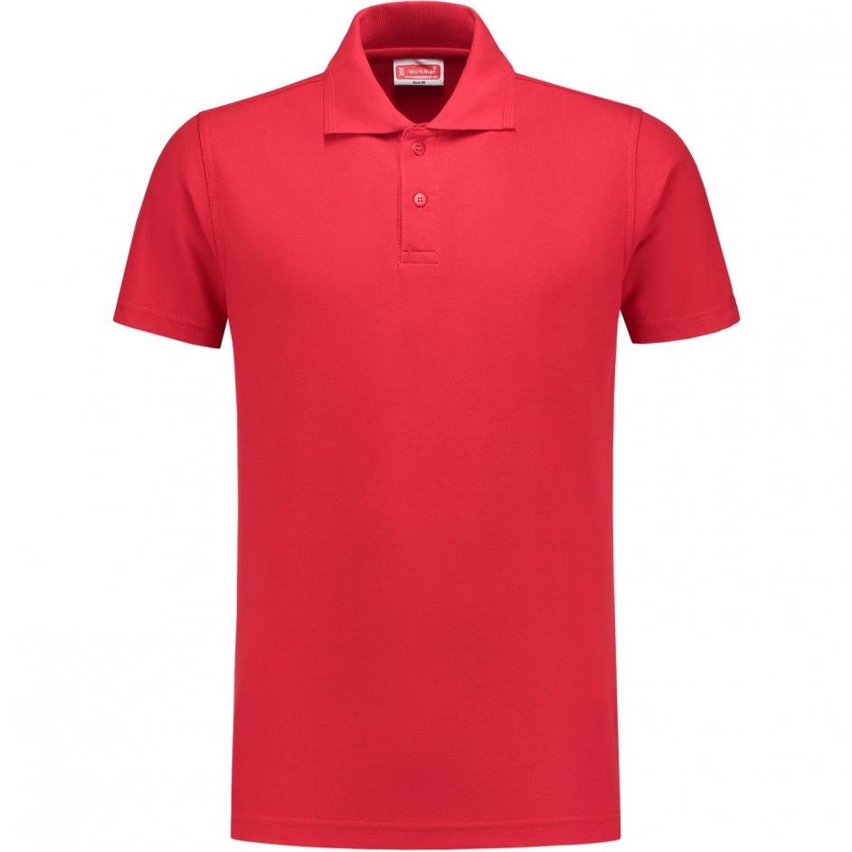 Poloshirt 8103 rood