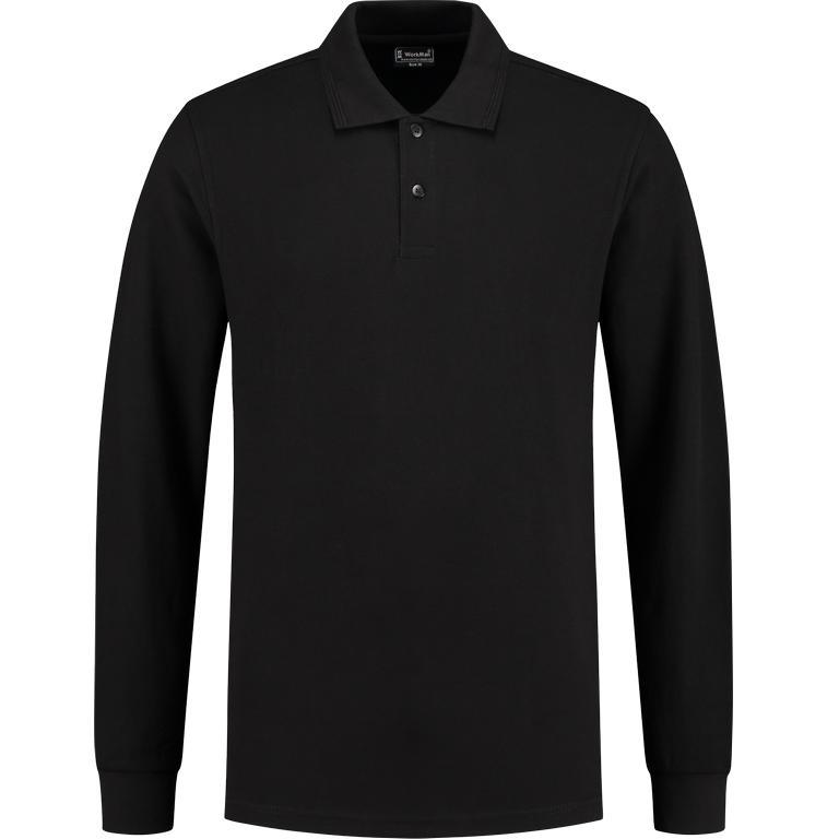 WM Outfitters Polo Longsleeve (zwart)