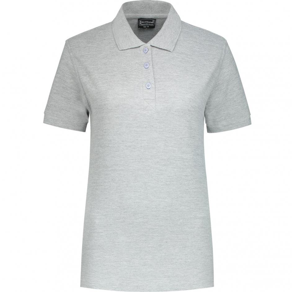 Uni Polo Shirt (grijs melee)