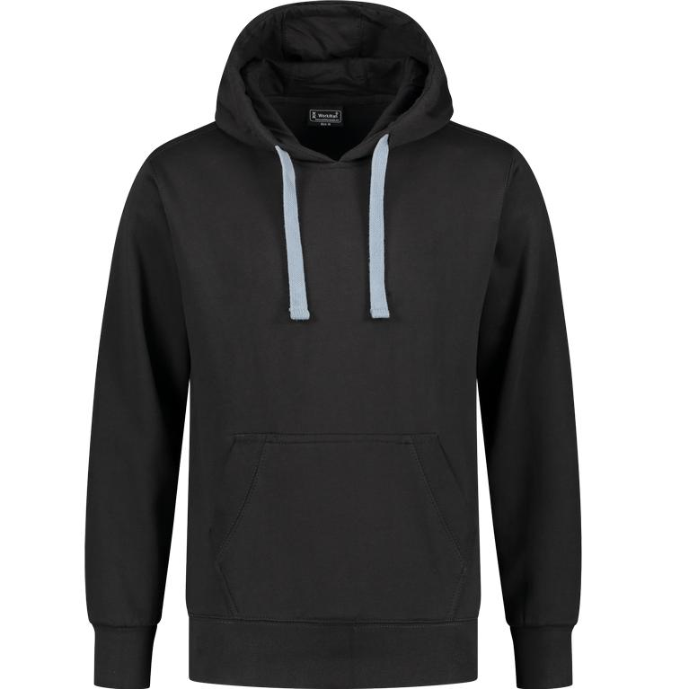 WM Outfitters Hooded Sweater (zwart)