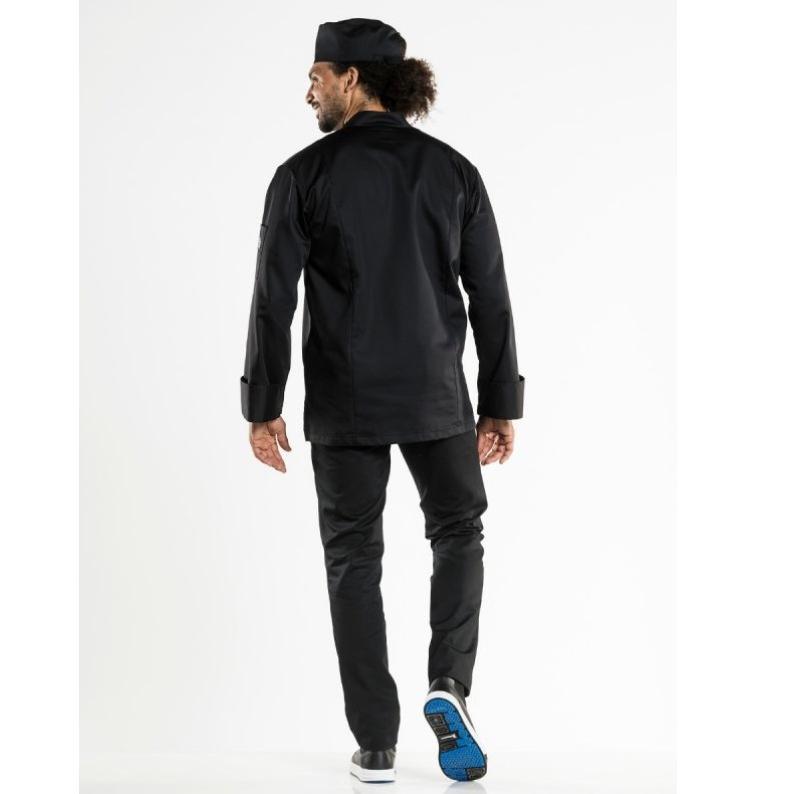 915 Chaud Devant heren Chef Jacket Monza Black