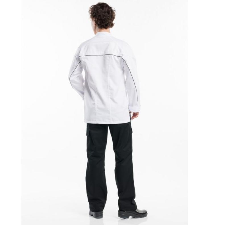 937 Chaud Devant Chef Jacket Guzzi White