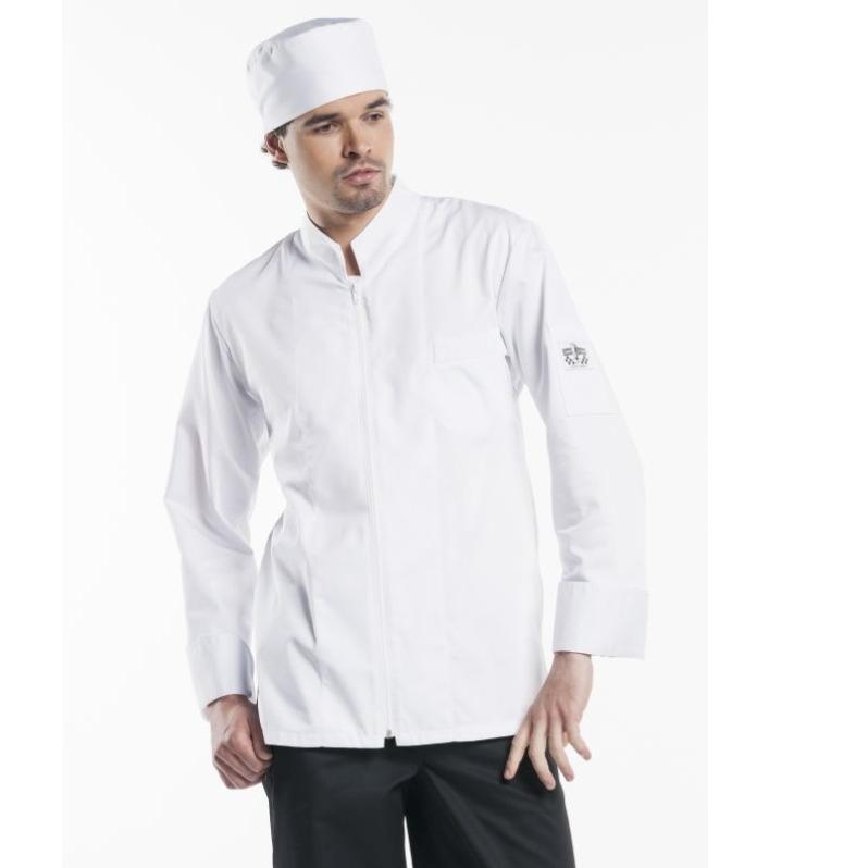 950 Chaud Devant Chef Jacket Monza Lange Mouw