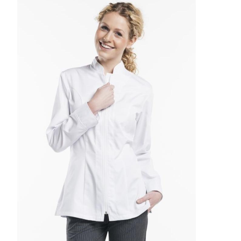 952 Chaud Devant Chef Jacket Lady Monza Lange Mouw