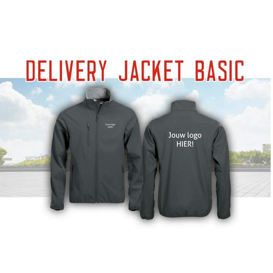 Delivery Jacket Basic van WebshirtCompany!