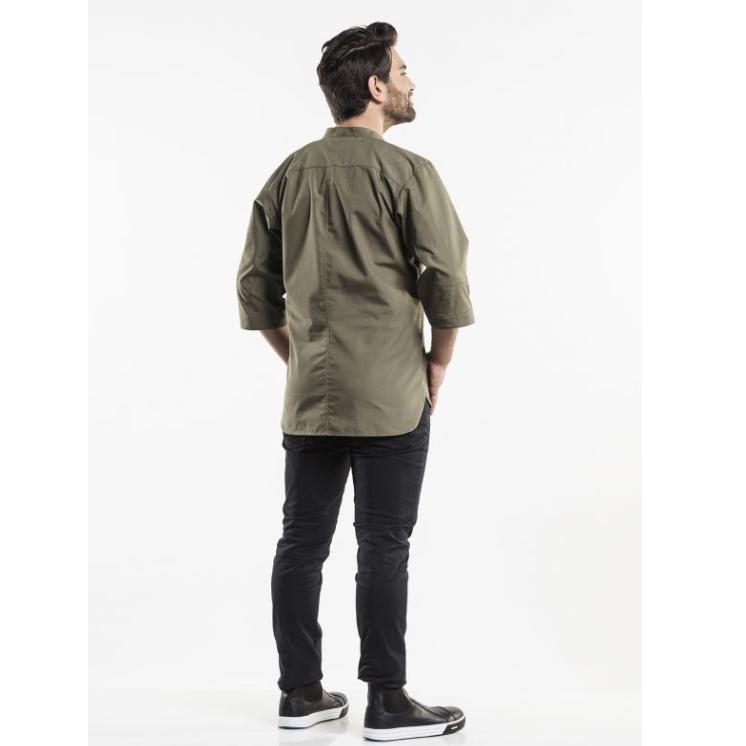 CHEF JACKET BUJUTSU GREEN 240