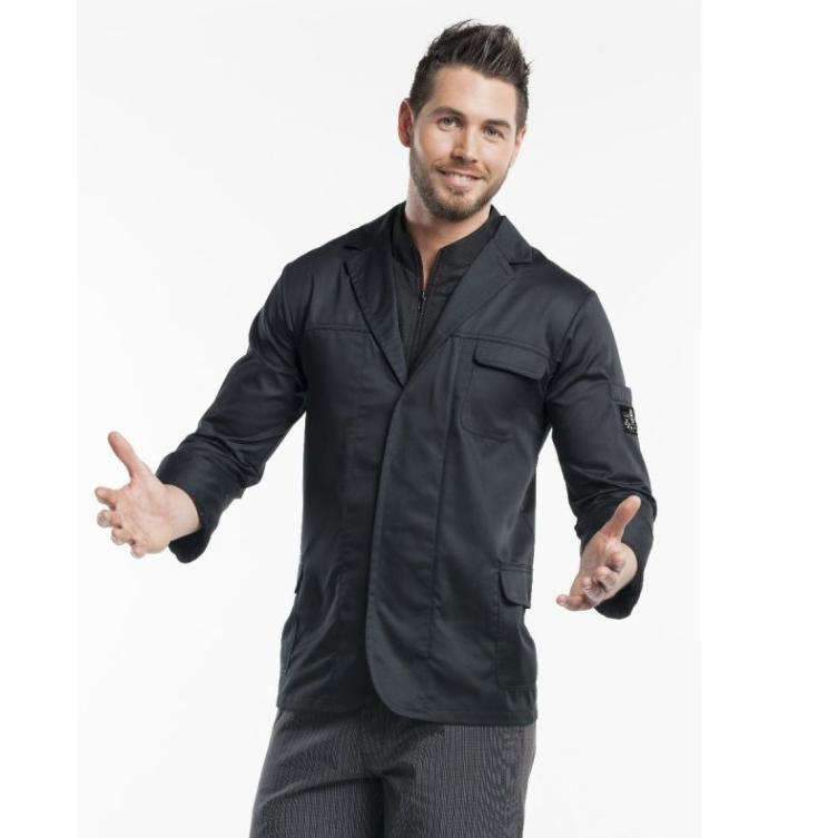 CHEF JACKET MONTELLO BLACK 929