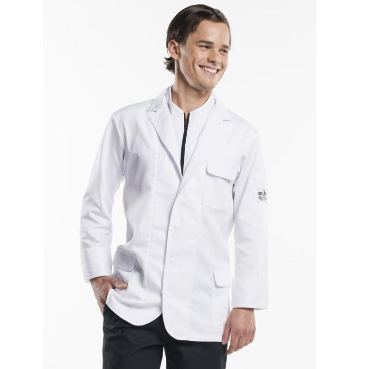 CHEF JACKET MONTELLO WHITE 935