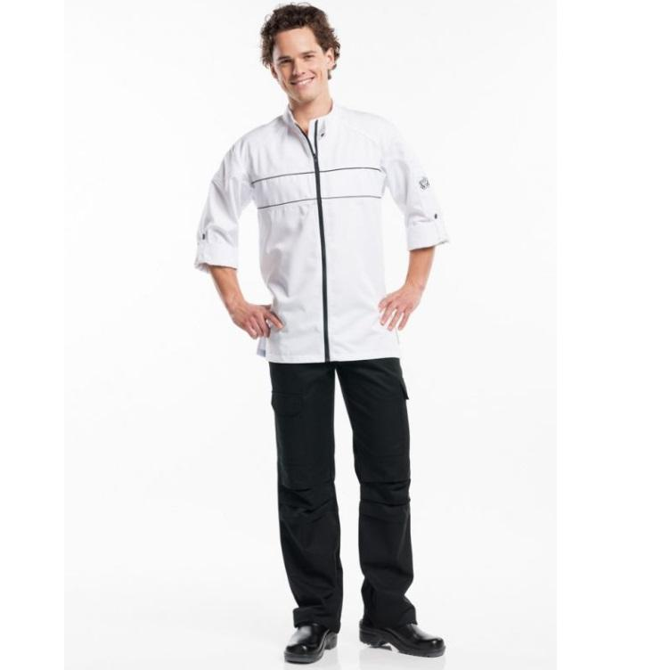 CHEF PANTS WORKER BLACK 157