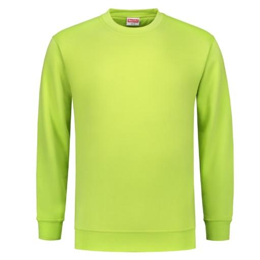 Uni sweater Workman 8219 Limegroen