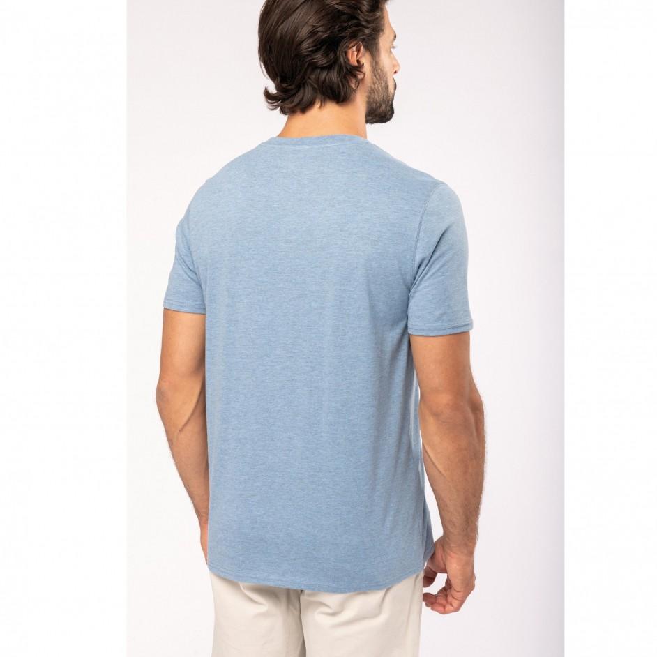 Native Spirit T-shirt V-hals met knopen NS302