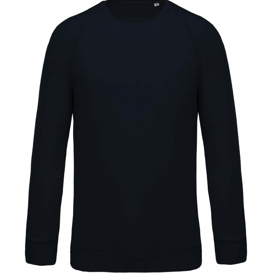 Sweatshirt with Organic Cotton Navy