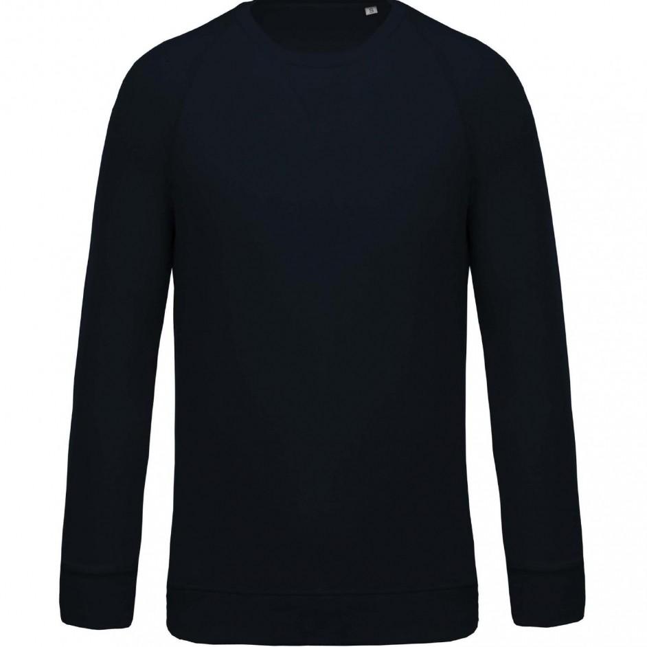 Sweatshirt with Organic Cotton Navy