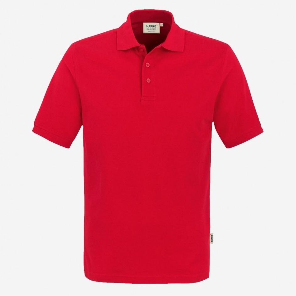 810 Poloshirt Classic Hakro Rood