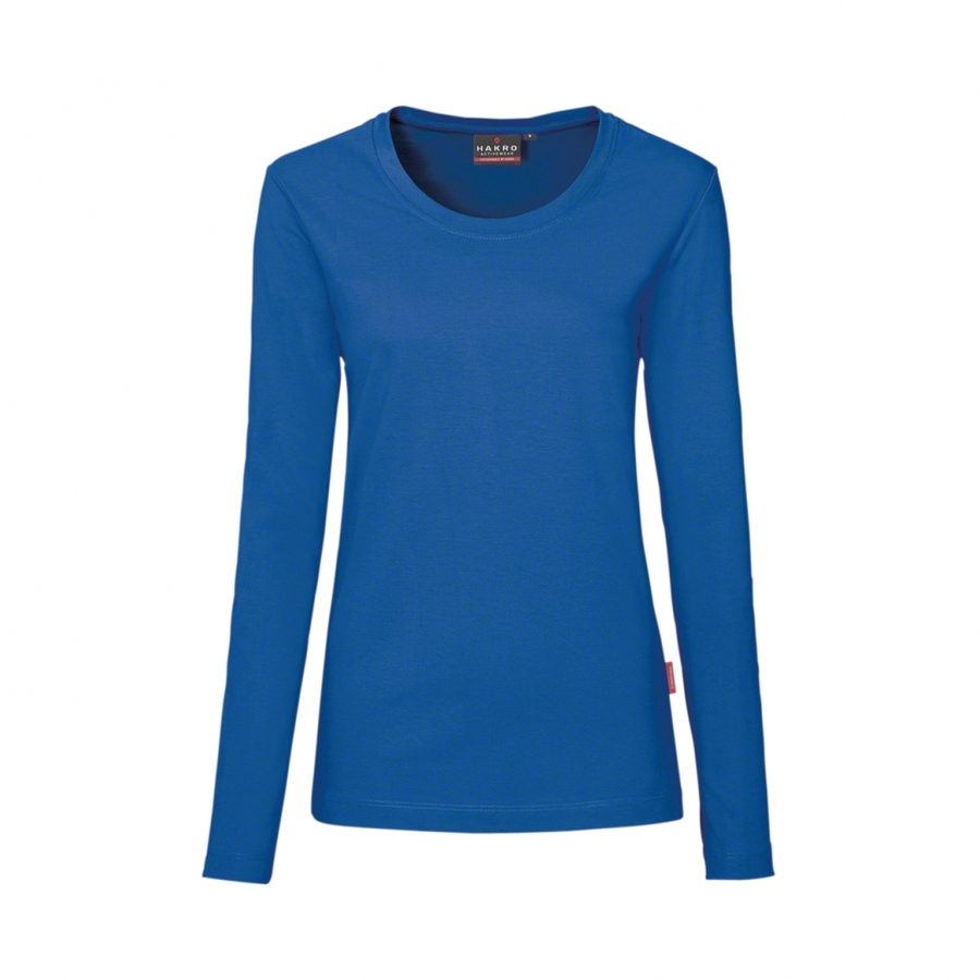 Hakro Women  Performance Long Sleeve 179 Royal Blue