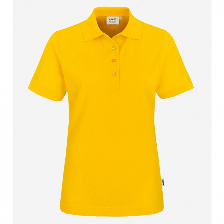 216 Hakro Women Performance poloshirt Sun Yellow
