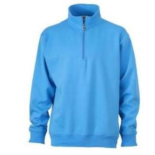 Zip sweat Workwear aqua