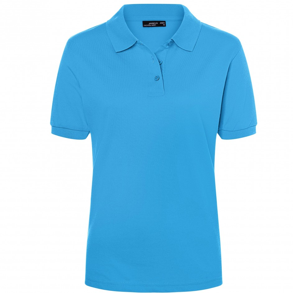 James & Nicholson Classic Polo Ladies JN071 aqua