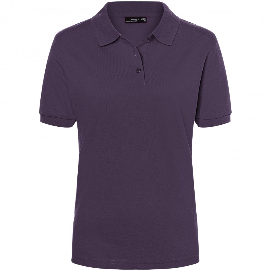 James & Nicholson Classic Polo Ladies JN071 aubergine