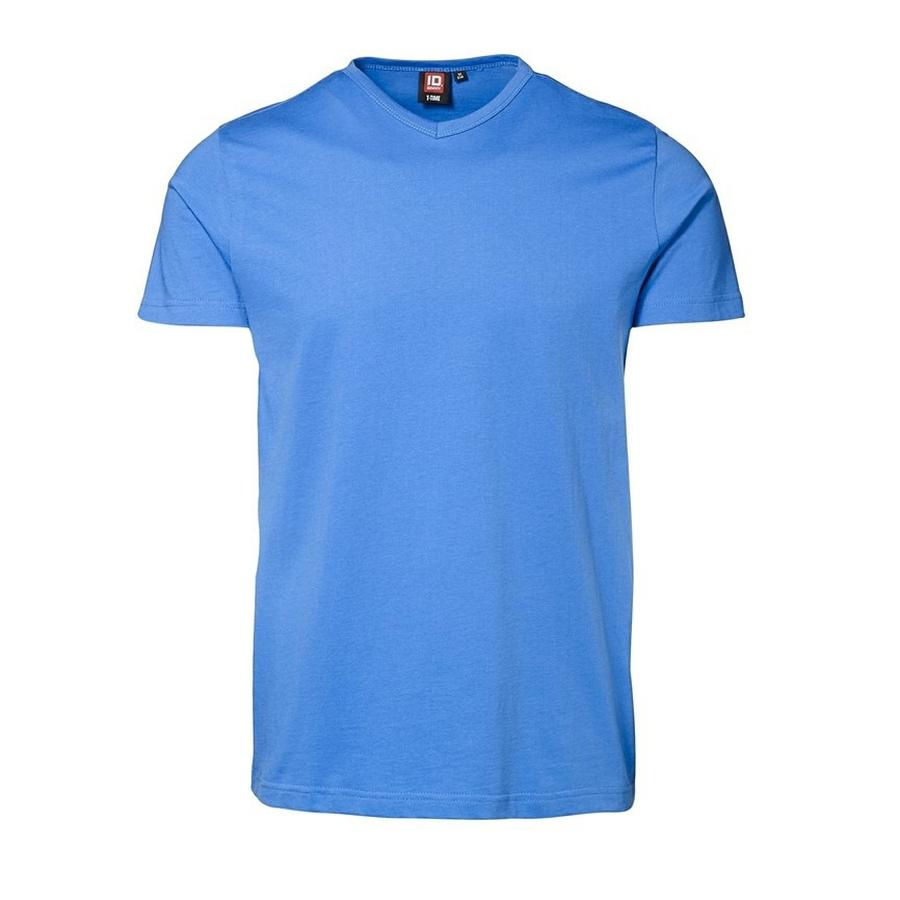 V-hals slimline t-shirt