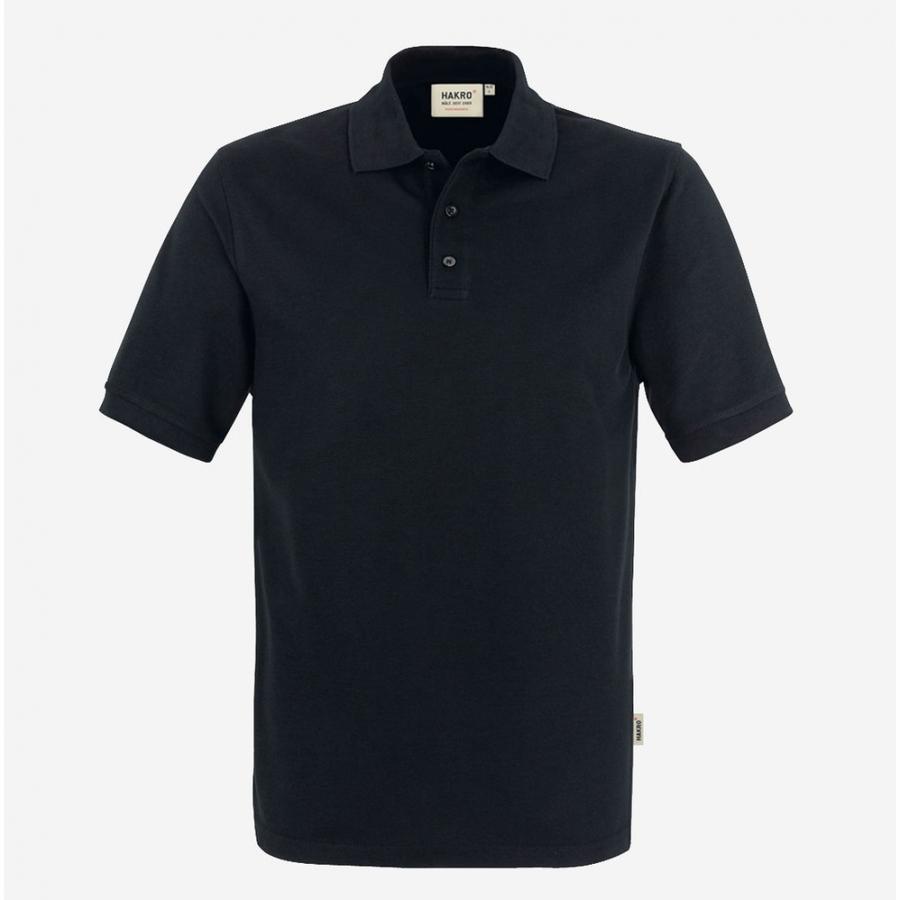 Poloshirt 816 Hakro Zwart