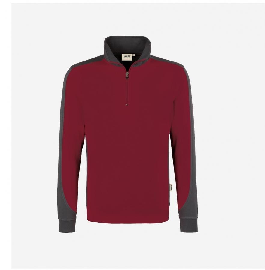 Hakro Performance Sweatshirt 476 Bordeauxrood
